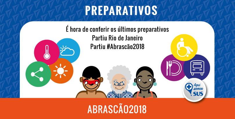 É hora de conferir os últimos preparativos – Partiu Rio de Janeiro, partiu Abrascão