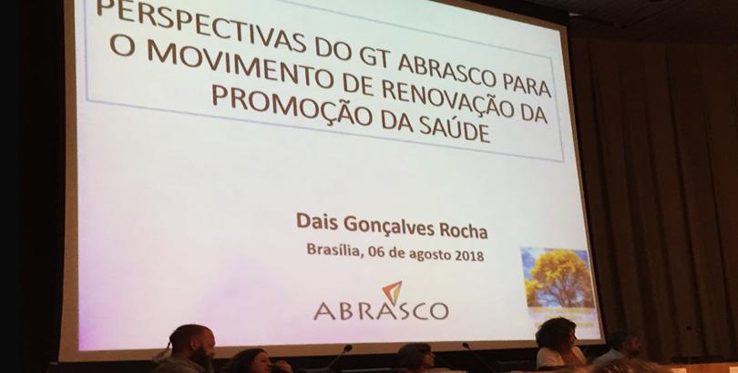 GTPSDS participa de atividade para renovação dos eixos de Promoção da Saúde na Agenda 2030