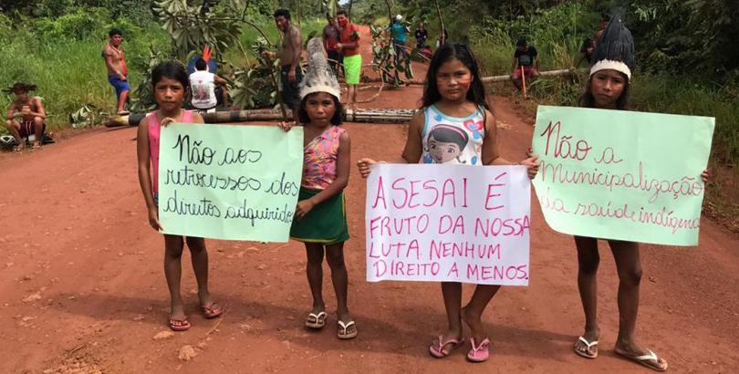 """Ana Lúcia Pontes ao El País: """"Nos preocupa a garantia da assistência de saúde aos indígenas"""""""