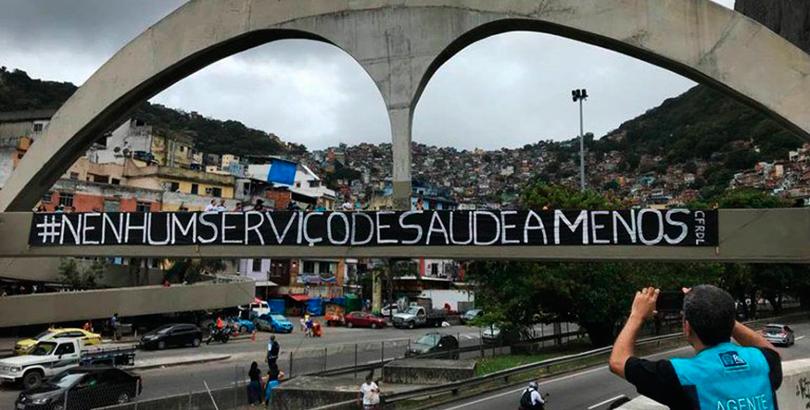Em defesa da saúde mental: contra o desmonte das equipes multiprofissionais do SUS no RJ