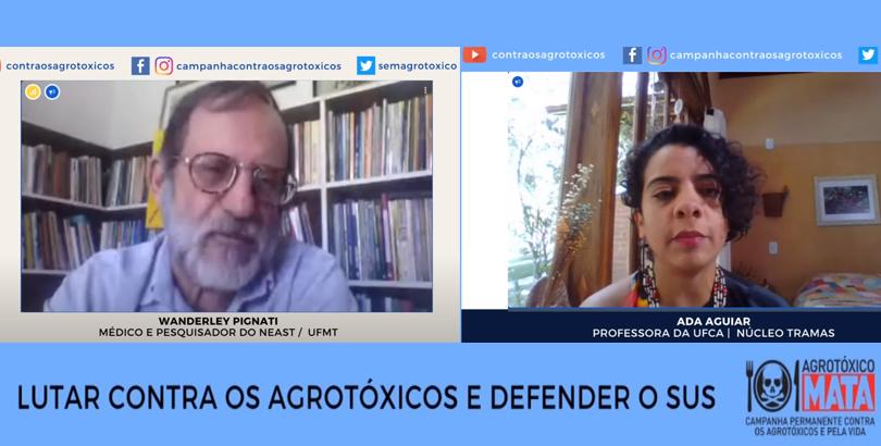 Campanha contra os Agrotóxicos e pela Vida realiza lives para conscientização