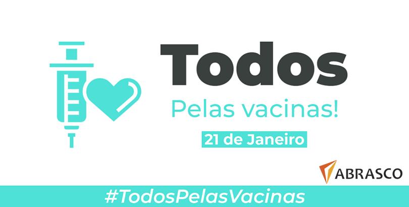 Abrasco participa da campanha #TodosPelasVacinas
