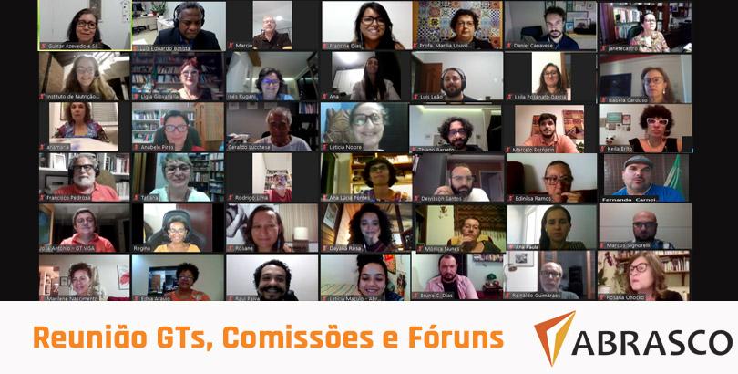 Em reunião com Grupos temáticos, Fóruns e Comissões, Abrasco reafirma e discute novas ações