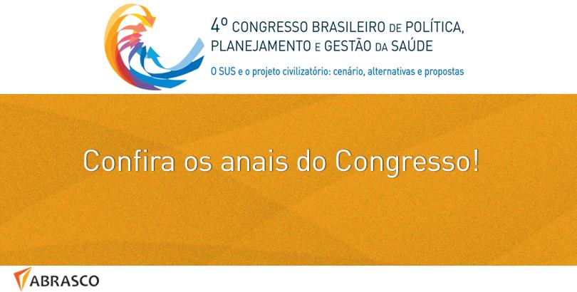Compilado de resumos apresentados no Congresso podem ser conferidos no site